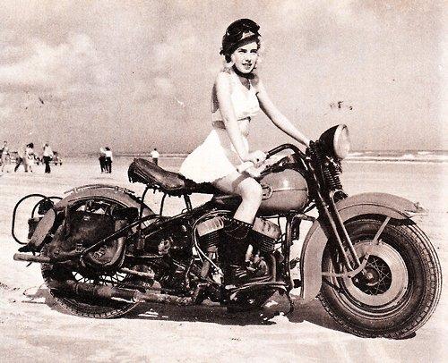 Belle !!!   la Harley