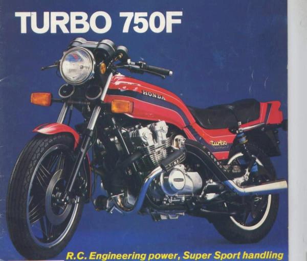 Honda bol d'or turbo