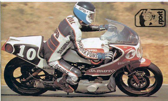 Patrick Pons sur Honda 1100 R