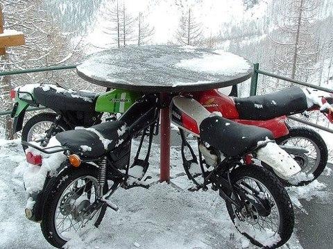 Bar pour motard