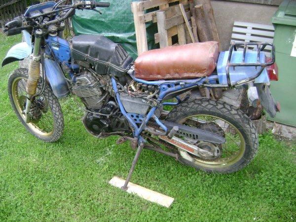 Yamaha 600 XT : un projet abandonné...