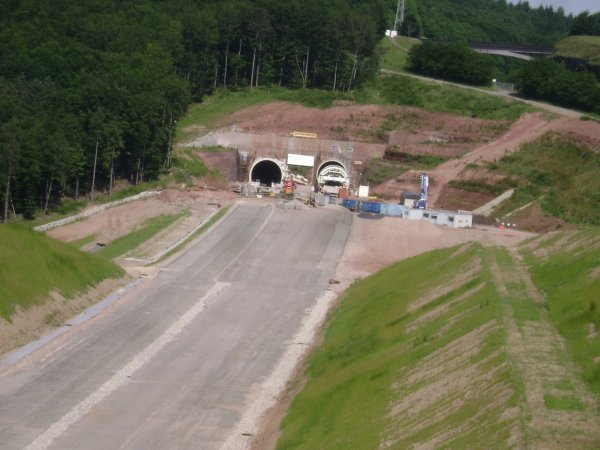 Le chantier du TGV Est avance