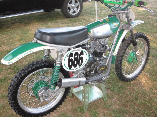 Honda 125 SL cross vintage