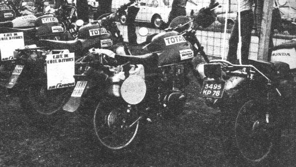 Honda 250 xl en 1977 au cote d'ivoire cote d'azur