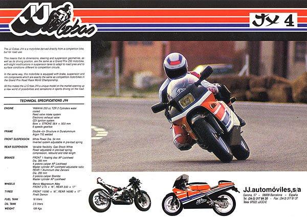 BMW K 100  en course en 1985 (JJ Cobas)