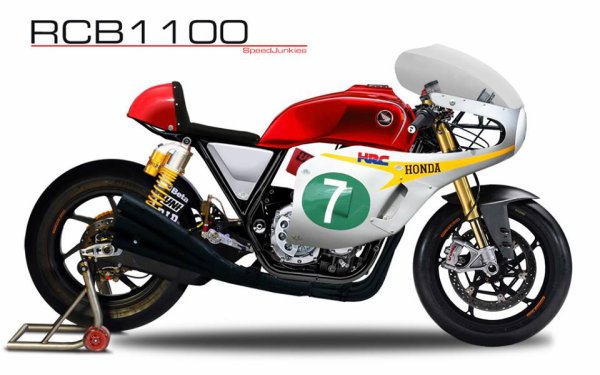 HONDA RCB 1100 - version 2013 ??