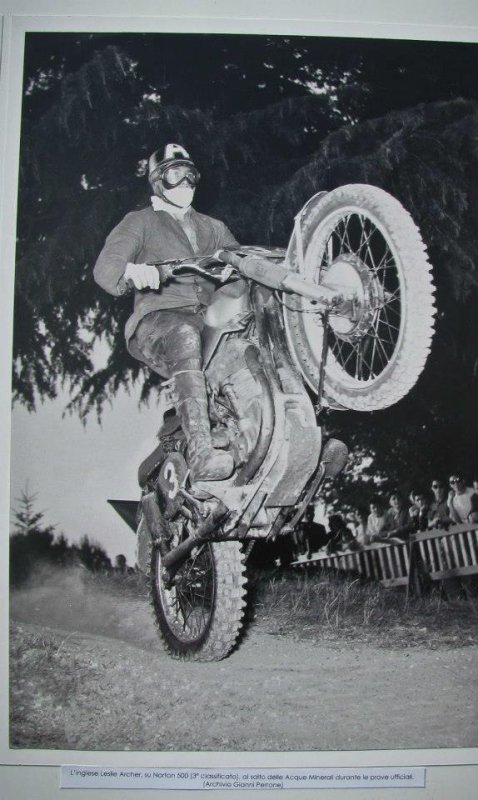 Moto cross Vintage