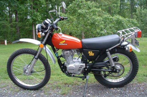HONDA 125 XL version US