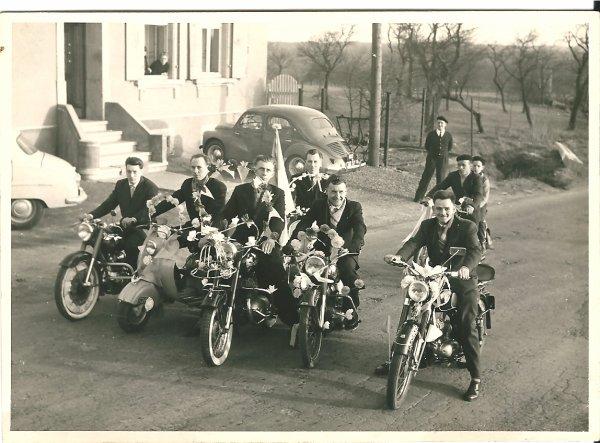 Souvenir : mon père en Lambretta