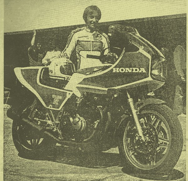 Dominique Sarron présente la Honda CB 1100 R