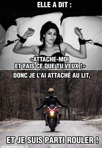 La moto, la moto, y'a que ça de vrai !!!!