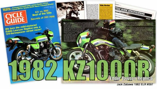 Un peu de Kawasaki vintage