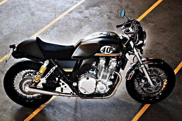 HONDA CB 1100 Dark Racer (suisse)