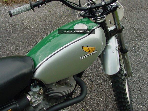 HONDA 250 XL prépa