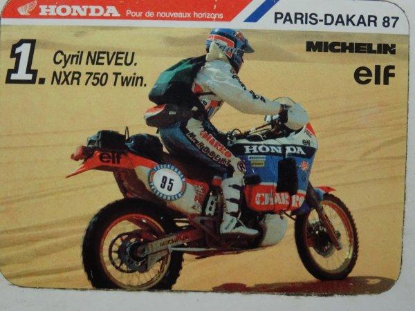 Paris Dakar - souvenir