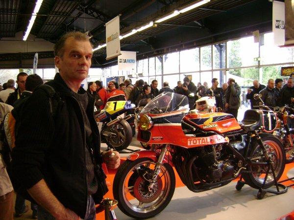 La moto de Léon-Chemarin en vrai