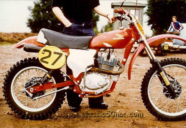 HONDA 250 XL prépas