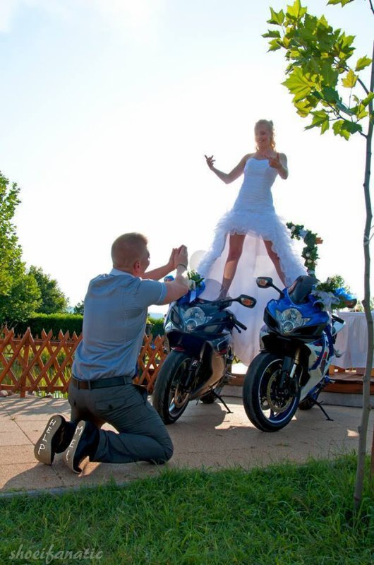 Moto et charme