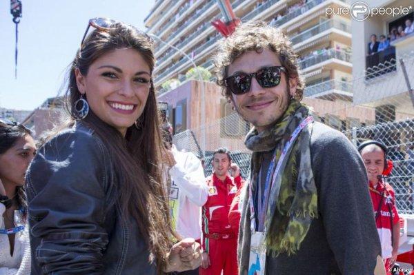 Valentino rossi fiançé à LINDA MORSELLI