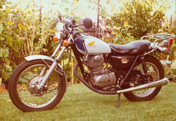 HONDA 350 XL Café racer stye SR Yamaha