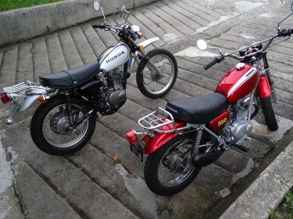 HONDA 350 SL et 250 XL