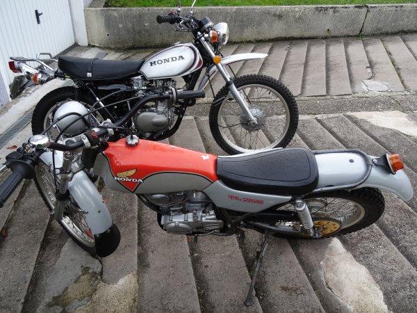 HONDA 250 TL et HONDA  250 XL