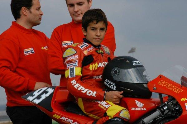 Valentino Rossi et Marc Marquez : 12 ans d'écart ; Hier
