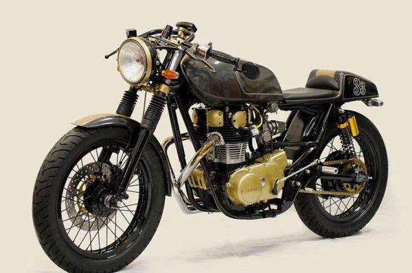 Yamaha xs 650 café racer