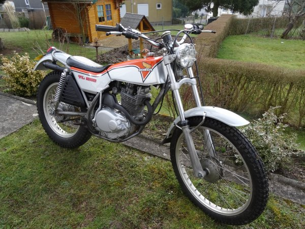 HONDA 250 TL