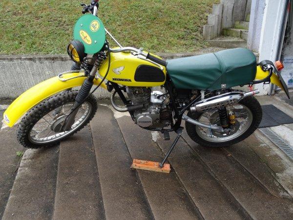HONDA XL 250 enduro vintage ( projet en cours)