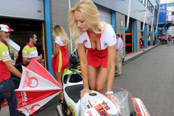 Belles les Ducati Pramac !!
