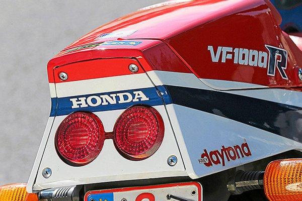 HONDA CB 1100 R - HONDA VF 1000 R