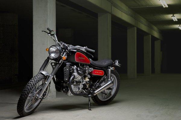 HONDA 500 CX - trailisé