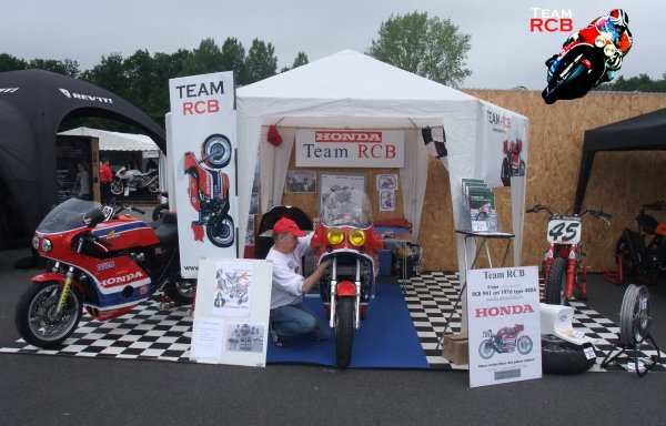 Bravo au team RCB Racing pour la reconstruction d'une RCB