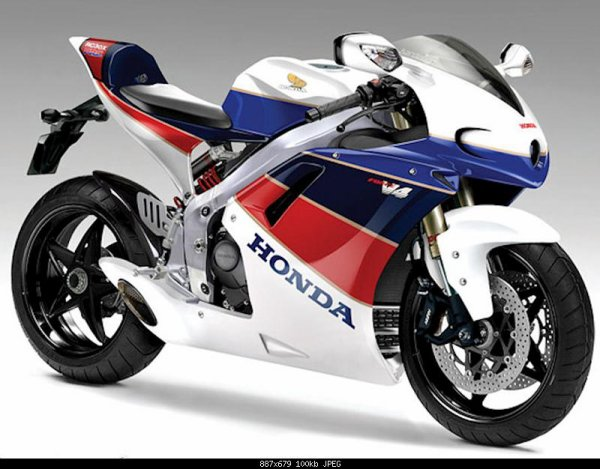 HONDA V4 Supersport concept