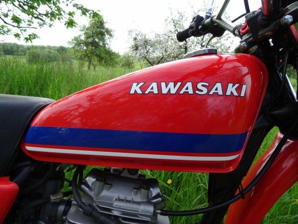 KAWASAKI KL 250 A