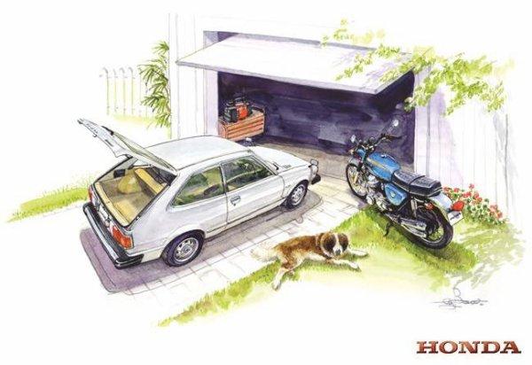 Un garage de rêve HONDA