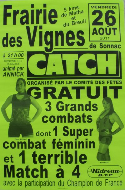 Gala Des Vignes de Sonnac !!! Vendredi 26 Aout 2011 !!!
