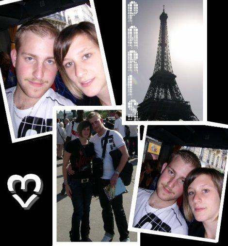 Paris avec mon ti coeur <3