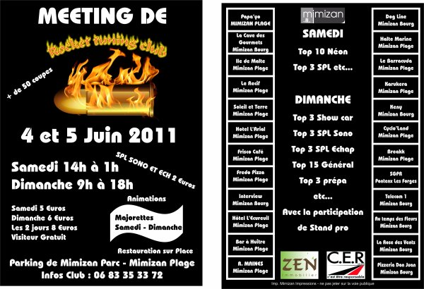 meeting 4 et 5 juin  mimizan plage