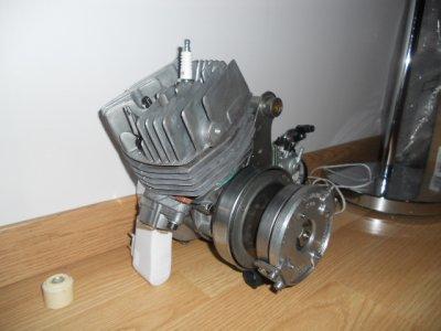 le moteur pour la 103