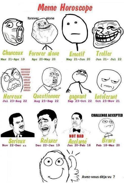 Horoscope Meme