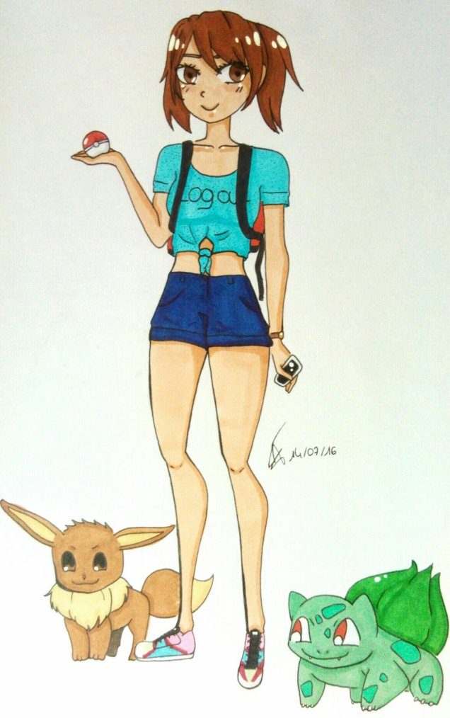 DESSIN65: I play pokémon GO EVERYDA//AVION//
