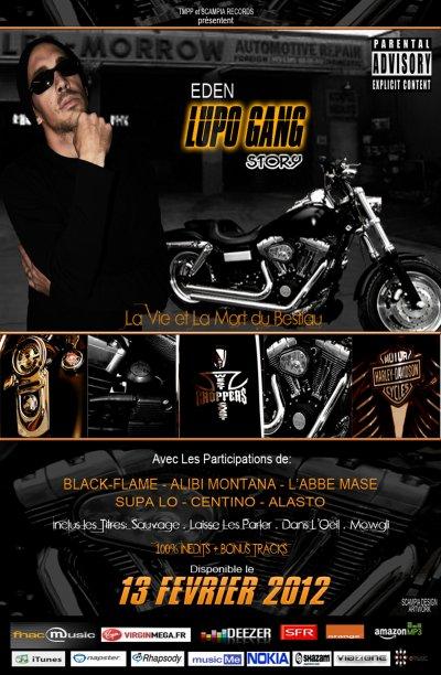 """LUPO GANG STORY"" DISPO LE 13 FEVRIER 2012"