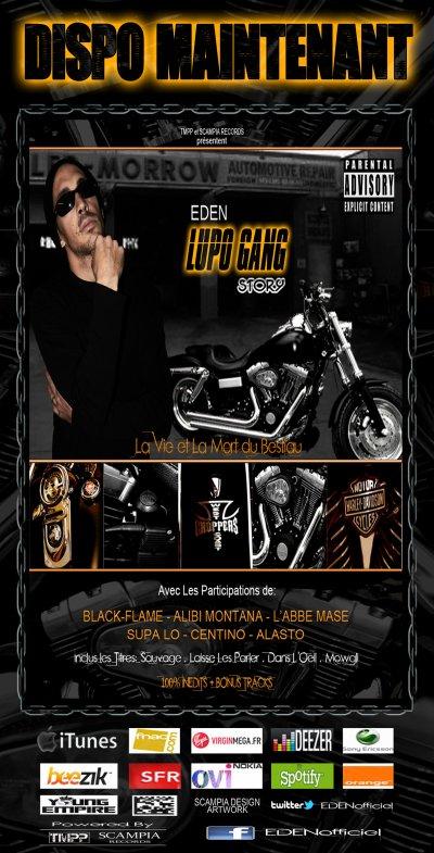 """MIXTAPE """"LUPO GANG STORY-La Vie et La Mort du Bestiau"""" DISPO MAINTENANT"""