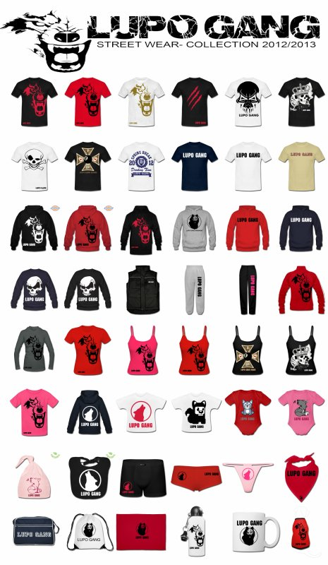 "COLLECTION ""LUPO GANG WEAR"" 2012/2013 SUR ANARCHY-STORE"
