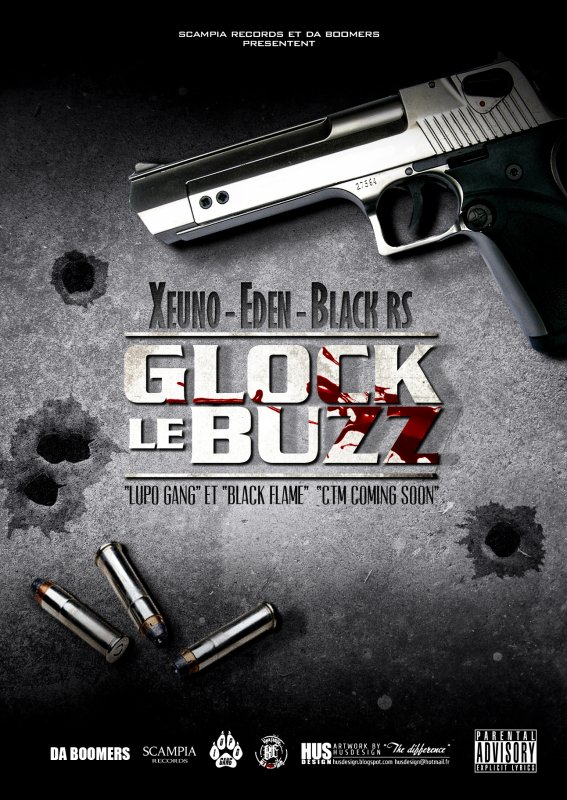 EDEN / BLACK-FLAME. GLOCK LE BUZZ