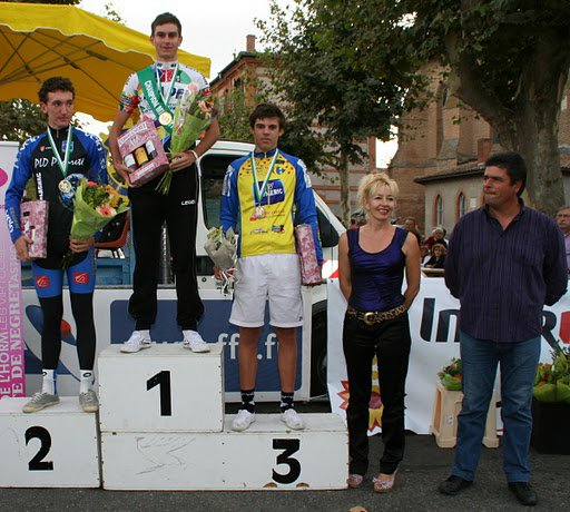 Championnat Midi-Pyrénées Contre-La-Montre à Fronton : Encore un podium