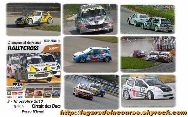 Ce week end, championnat de France de Rallycross à ESSAY
