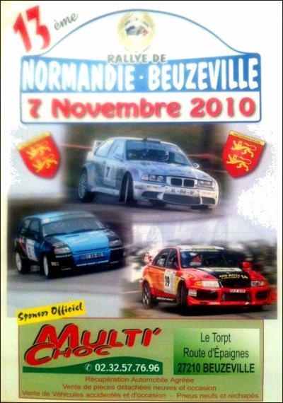 Le dernier rallye de la saison 2010